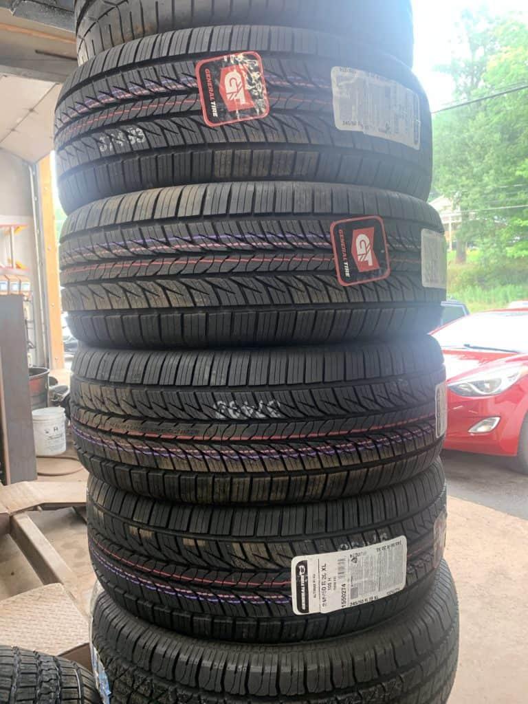 tire services at manor motors inc Livingston Manor NY